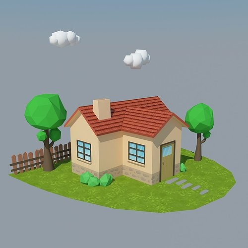 low-poly-house-4-3d-model-low-poly-max-o