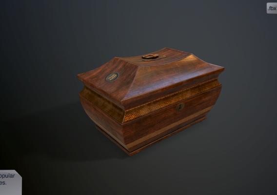 Antique casket