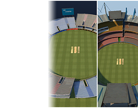 Cricket Stadiums Pack 3D asset