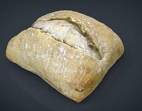 Bread 3D model game-ready