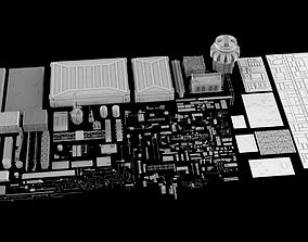3D model Sci-Fi Elements collection 5