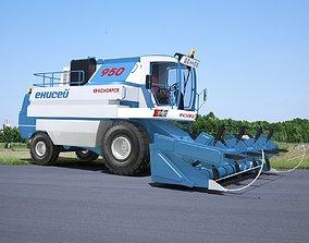 3D harvester Yenisei 950 combine Harvester