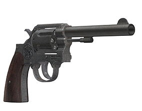 Smith and Wesson 28-200 3D model