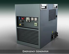 3D model Emergency generator
