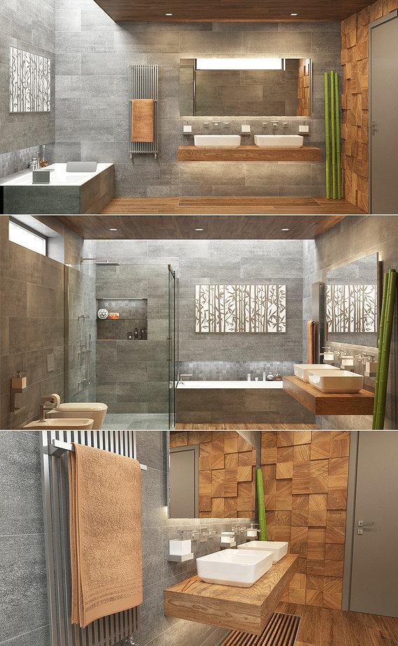 Photorealistic Bathroom