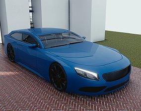 3D model BLENDER EEVEE Brandless Sports GT shooting