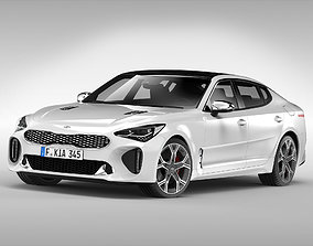 Kia Stinger GT 2018 3D model