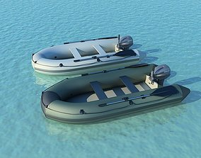 3D model Inflatable boats