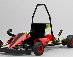 3D Go kart custom