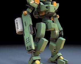 Sentinel Robot Mech for DAZ Studio 3D
