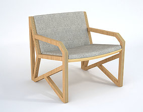 3D OVO Poltrona Lateral Armchair