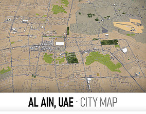 Al Ain - UAE - city and surroundings 3D model low-poly