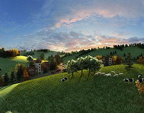 3D Urban Prairie Ranch 01