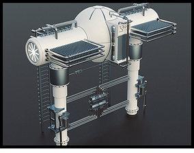 Sci-Fi Generator 3D crank