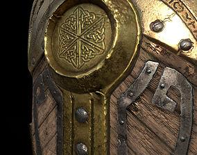 Fantasy War Shield 3D model