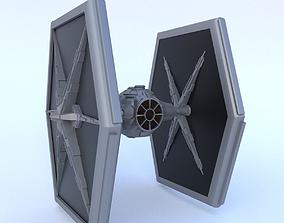 Star Wars Tie-Fighter 3D asset
