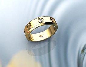 Mens Ring 3D printable model rings