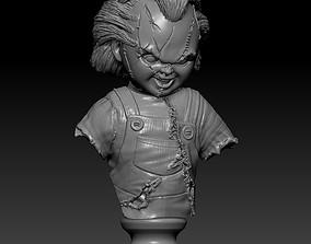 3D printable model Chucky Bust