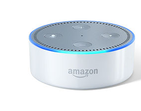 Amazon Echo Dot 3D print model