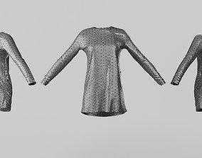 3D asset Female Clothing 06