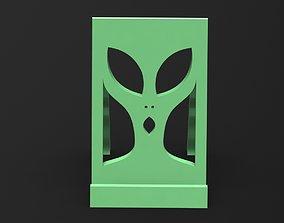 Alien Phoneholder 3D printable model