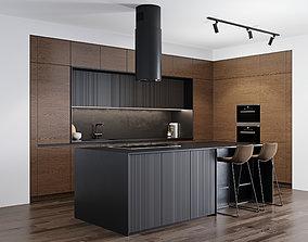3D model Modern kitchen 5
