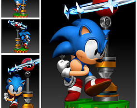 character Sonic The Hedgehog 3DPrint