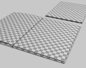 Artbook mockup 3D
