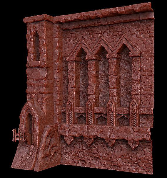 Dungeon Module Enviro (Sculpt)