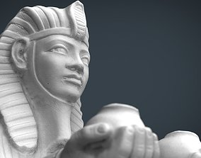 3D model Egyptian Sphinx