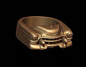 3D printable model car ring 4