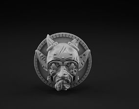 3D printable model Knockout token
