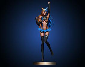 3D printable model games Anime girl