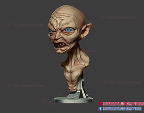 3D print model Gollum The Lord of the Rings Sculpture 2