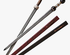 3D model Roman Cavalry Sword