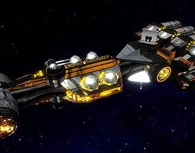 STAR WARS - CR90 CORVETTE CONCEPT 3D model