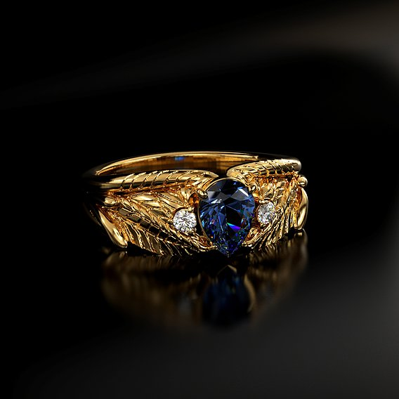 Fancy ring