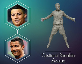 ronaldo Cristiano Ronaldo Celebration 3D sculpture