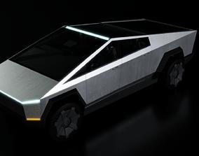 3D model Tesla CyberTruck truck