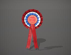 Best in Show Rosette Badge Medal 3D model