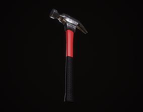 Hammer anvil 3D model game-ready PBR