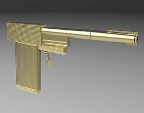 3D Golden Gun from James Bond 007