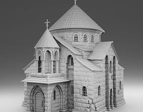 3D printable model Church temple