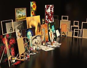 3D Artist Studio Set 190