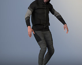 3D asset Bruce 20376-09 - Hip Hop Dancer - FREE Animated