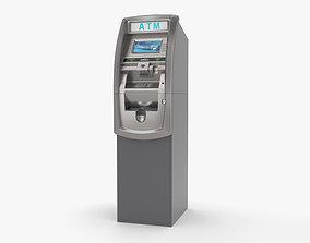bancomat ATM Machine 3D