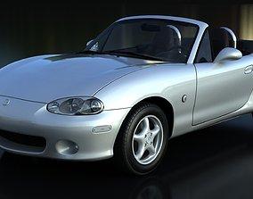 Mazda Miata MX-5 NBFL V-Ray 3D model