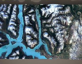 Mountain landscape exterior 3D model