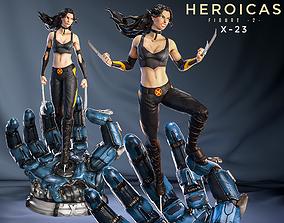 figure Heroicas - Figure 2 - X23 - 3D print model