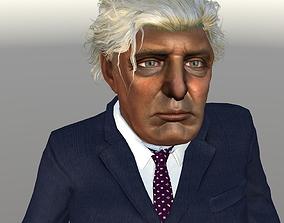 3D asset rigged Donald